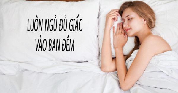5. Ngủ đủ giấc 1