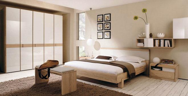 5. Tạo không gian yên bình trong phòng ngủ 1