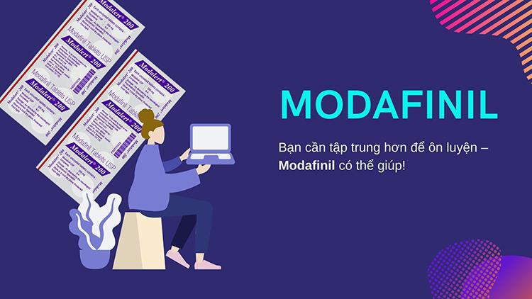 8. Sử dụng Modafinil 1