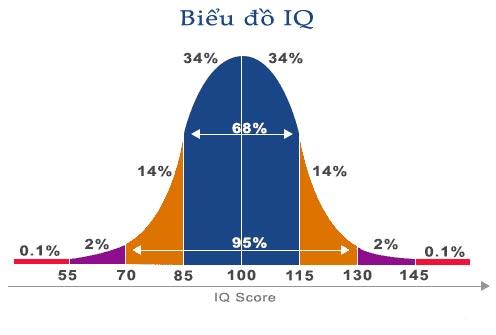 Điểm IQ trung bình 1
